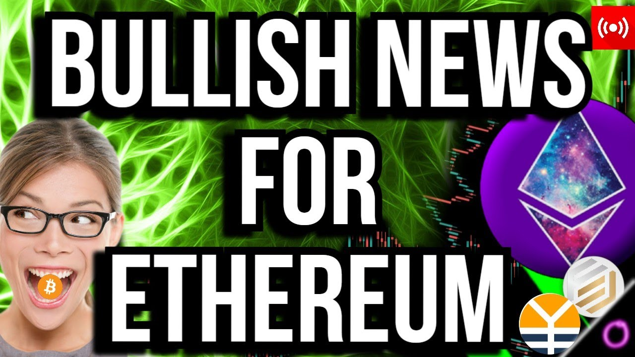 This Mad News Will Force Ethereum to Break All Time High