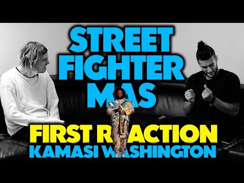 KAMASI WASHINGTON - STREET FIGHTER MAS REACTION/REVIEW (Jungle Beats)