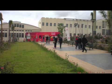moubtakir tour OUJDA campus 28102011