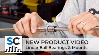 ServoCity Products: Linear Ball Bearings & Mounts