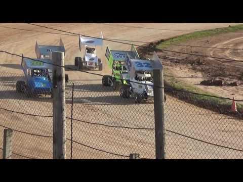 Paradise Speedway Brandyn Griffin heat race 6/17/17