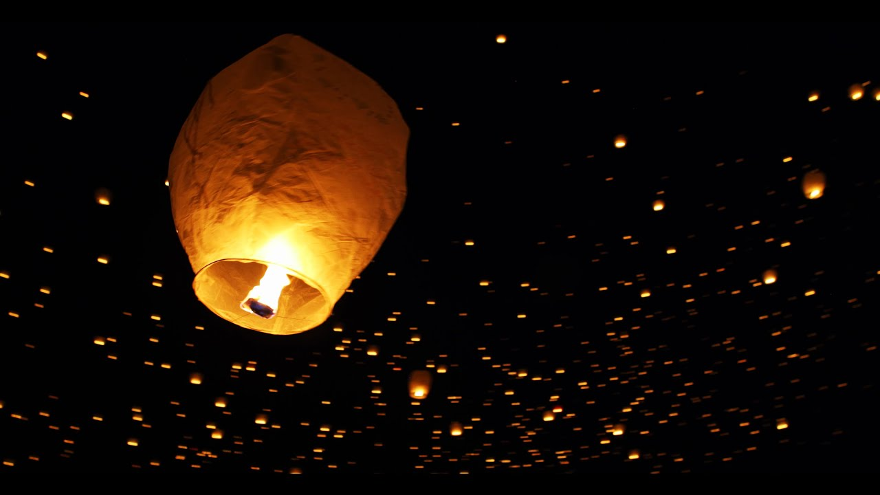Tangled in Real Life - Lantern Fest in 4K | DEVINSUPERTRAMP - YouTube for Lantern Festival Tangled  177nar
