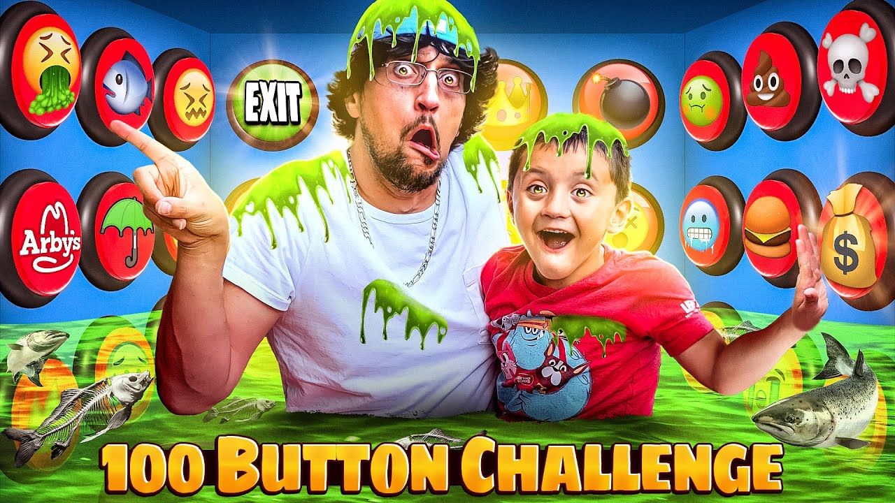 Download 100 Mystery Button Challenge! Only 1 WILL SAVE YOU & help Escape the Box with CASH $$ (FV Family)
