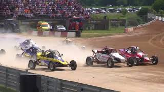 European autocross championship 2018. Автокросс 2 этап ЧЕ в Бауске (Латвия)