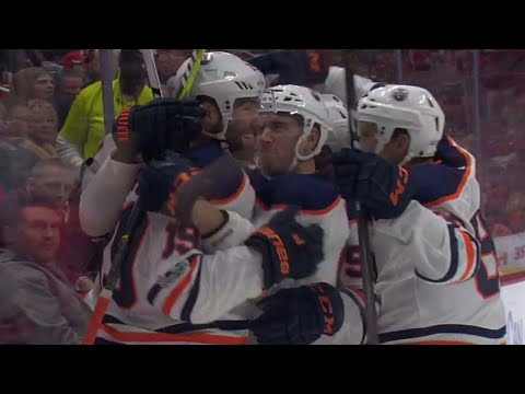 Great finish by Oilers' Maroon off slick pass from Draisaitl