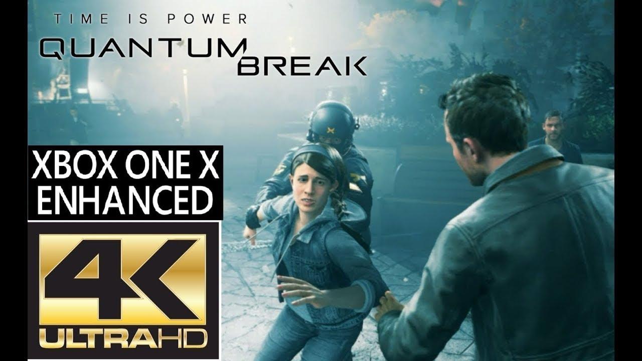 Quantum Break Gameplay 4k - Tv Lg 4k + HDR - Xbox One X Enhanced