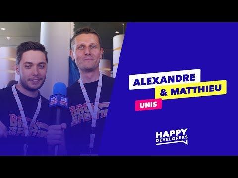 Rencontrez Alexandre et Matthieu !