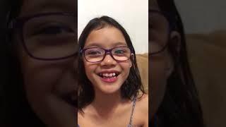 Elisa Adrienne Salazar's Job Interview at 9 years old