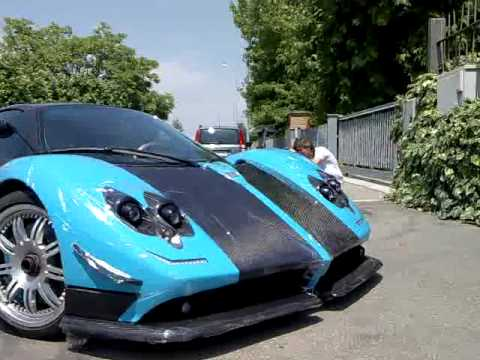 Pagani Zonda UNO - YouTube