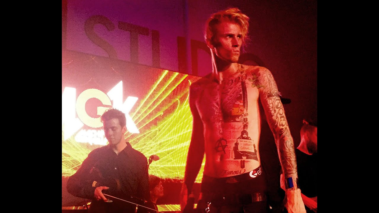 Machine Gun Kelly And Nick Kennerly Perform Youtube