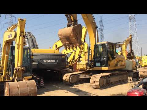 รถแบคโฮมือสอง CAT 320D สภาพรถเยี่ยม 090-268-2646 พร้อมจัด ไฟแนนซ์