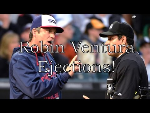Robin Ventura Ejections!