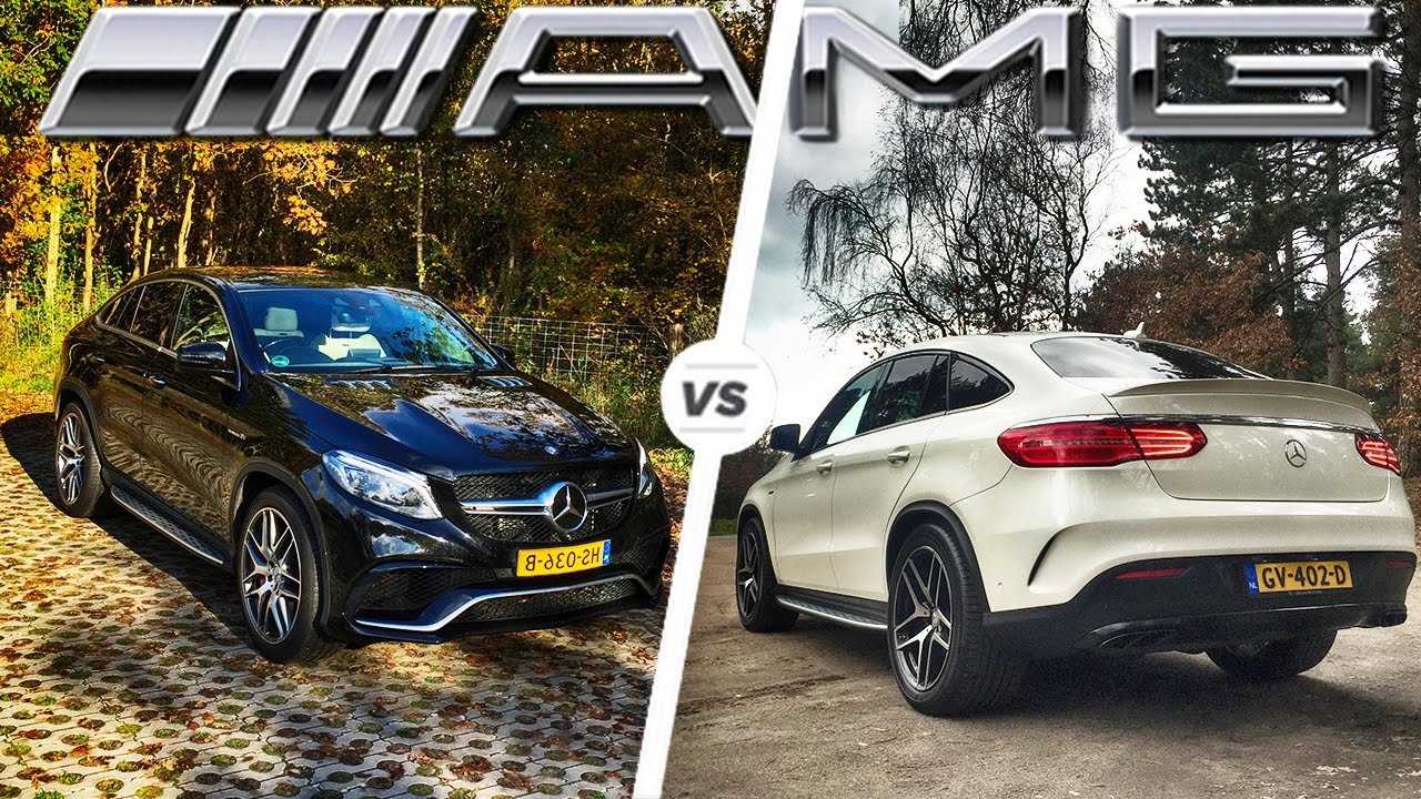Mercedes Gle 43 Amg >> Mercedes-AMG GLE 43 vs 63 S DRIVE & SOUND - YouTube