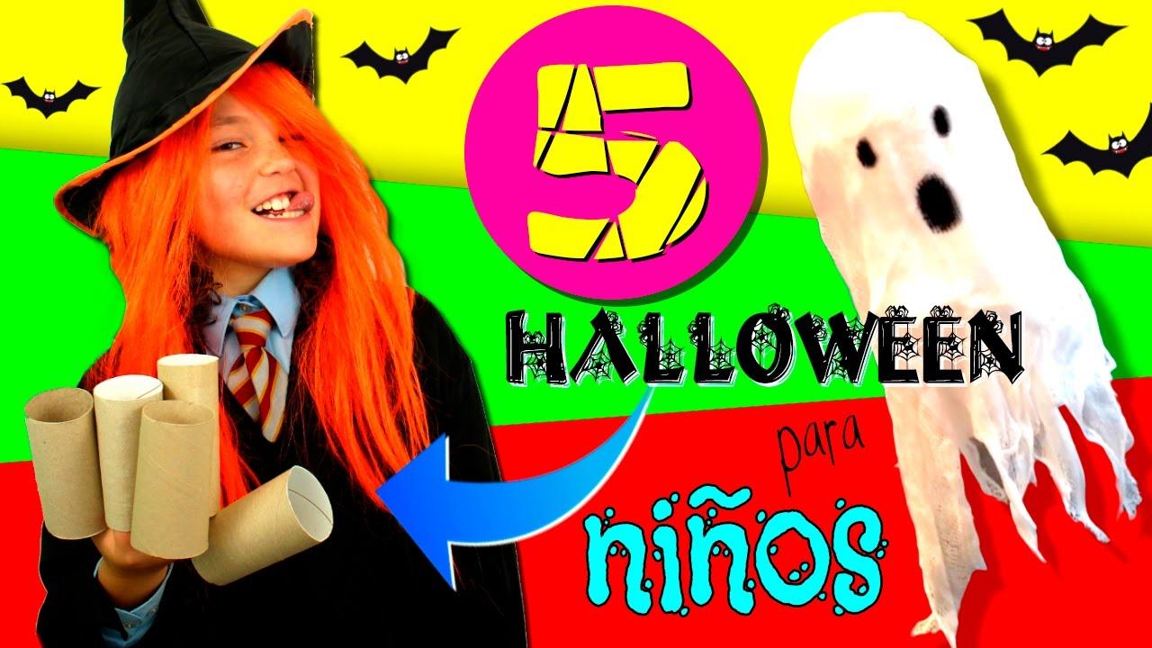 Manualidades Para Nios De Halloween - Manualidades-con-nios
