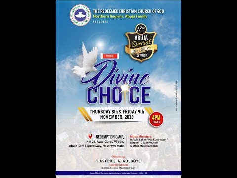 ABUJA SPECIAL HOLY GHOST SERVICE || DIVINE CHOICE