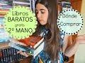 Dónde comprar libros baratos y de segunda mano | Libros gratis, Libros en inglés y español