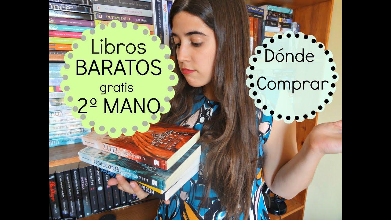 D nde comprar libros baratos y de segunda mano libros gratis libros en ingl s y espa ol youtube - Libreria segunda mano online ...
