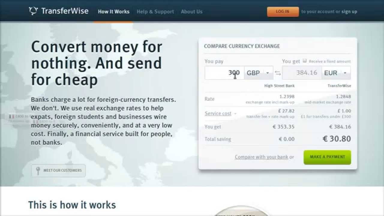 Best international money transfer - YouTube