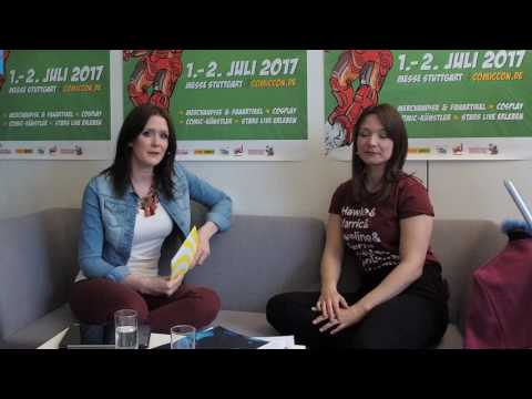Live Chat Comic Con Germany 2017 / Messe Stuttgart