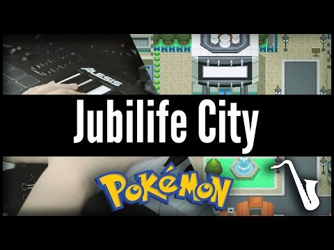 Pokémon DPPT: Jubilife City - Jazz Cover || insaneintherainmusic