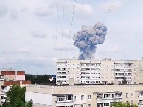 В России взорвался завод авиабомб, десятки раненых
