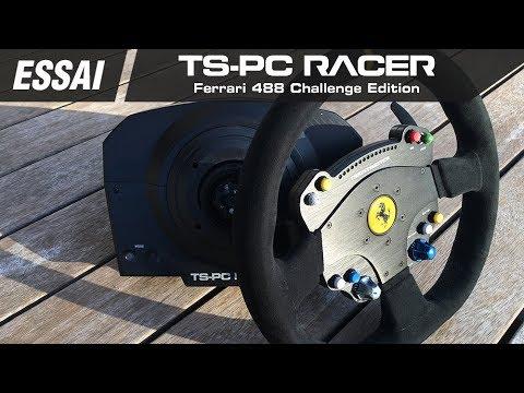 thrustmaster ts pc racer volant ferrari 488 challenge. Black Bedroom Furniture Sets. Home Design Ideas