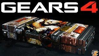 Gears of War 4 Gear Packs - OPENING RISE OF RAAM MEGA GEAR PACKS!