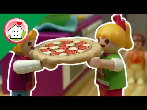جنة و مريم هيعملوا بيتزا - عائلة عمر - أفلام بلاي