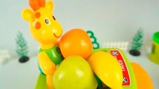 Пластилиновая азбука. Мофи и фрукты. Лепим букву Ф