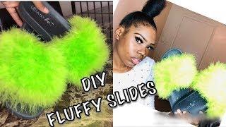 DIY:How To Make Fluffy Slides |Under $20 Bucks|