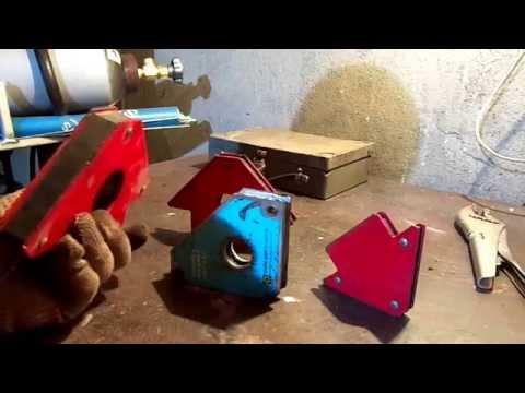 Магнитные угольники для сварки. Обзор от сварщика.
