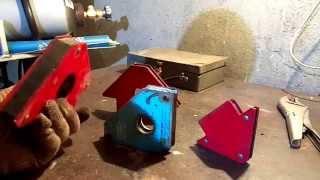 видео Магниты для сварки
