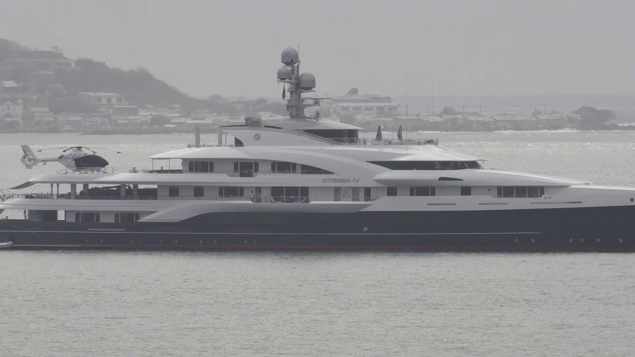 Attessa Iv Superyacht Cartagena Colombia