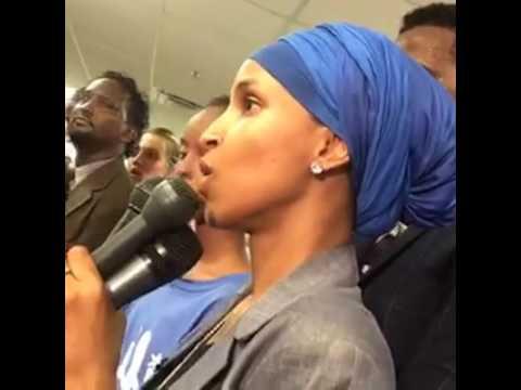 Ilhan Omar victory speech
