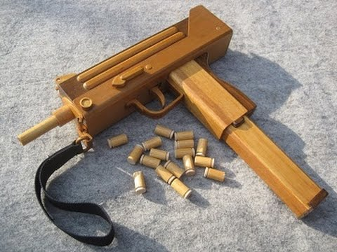 Blow Back Rubber Band Gun 06 0 Mac10 S M G Ejection Youtube