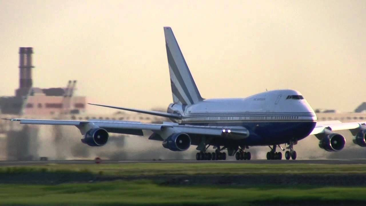 Sheldon Adelson39s Boeing 747 SP QuotSpecial Performancequot At Boston