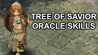 Tree of Savior Online Oracle Skills Preview