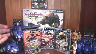 3-in-1 reviews: Zoids vs. series.