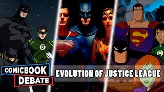 Evolution of JUSTICE LEAGUE in Movies (2019)