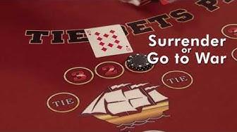 Casino War - How to play tutorial