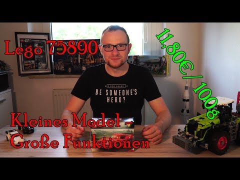 Kleines Modell, GROSSE Funktionen - Lego 75890 - Ferrari F40 Competizione - Review, Rezension