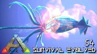 ARK: SURVIVAL EVOLVED - ALPHA TUSOTEUTHIS GIANT SQUID E54 !!! ( ARK EXTINCTION CORE MODDED )