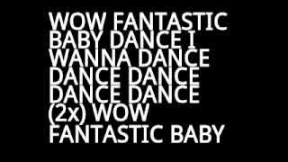 BIGBANG FANTASTIC BABY LYRICS