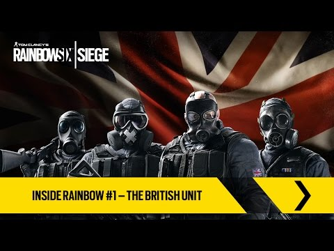 Tom Clancy's Rainbow Six Siege Official - Inside Rainbow #1 – The British Unit [EUROPE]