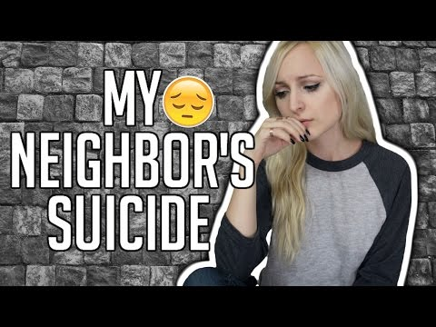 MY NEIGHBOR'S SUICIDE | STORYTIME