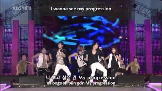 DBSK - Purple Line live (romanize+hangul+eng sub)