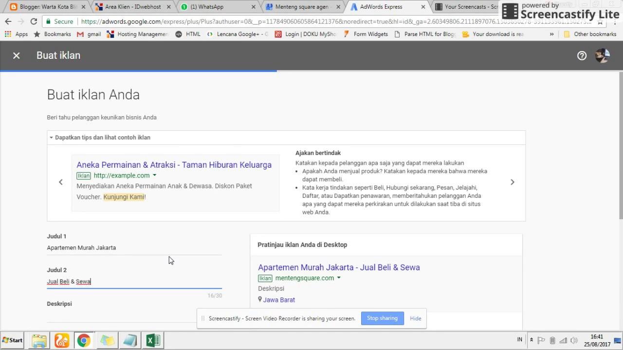 Begini Cara Pasang Iklan Di Google Yang Paling Gampang Youtube