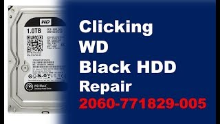 WD click no detact repair data recovery  WD15EARS WD20EARS WD10EARS WD10EZEX WD 1003FZEX 2060 771829
