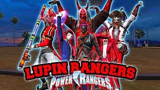 PARODI LUPIN RANGERS! | FREE FIRE! (PART 2)