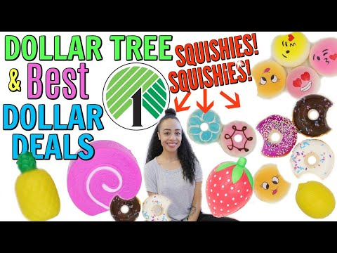 DOLLAR TREE SQUISHY HAUL AND MORE BEST DOLLAR DEALS!